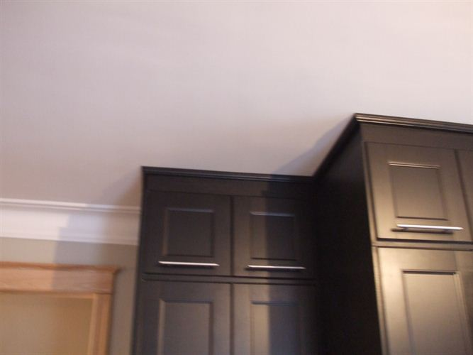 Fixe tou photos - Pose de moulure au plafond ...